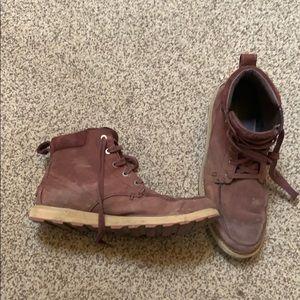 Sorel Madson waterproof moc-toe boots